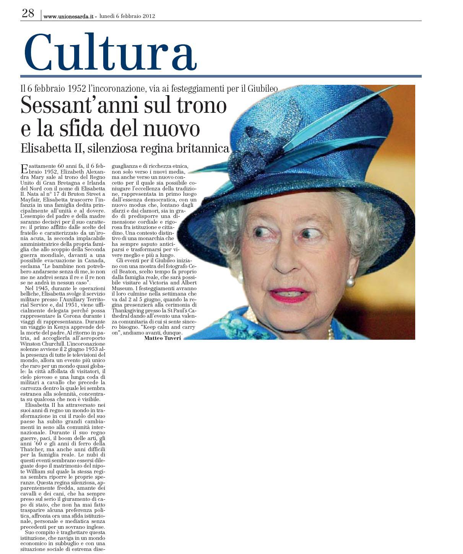 Sessant'anni sul trono e la sfida del nuovo. Elisabetta II, silenziosa regina britannica