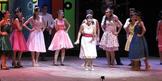 La compagnia EllioT sul palco, Fat is beautiful, Foto di A.Duranti
