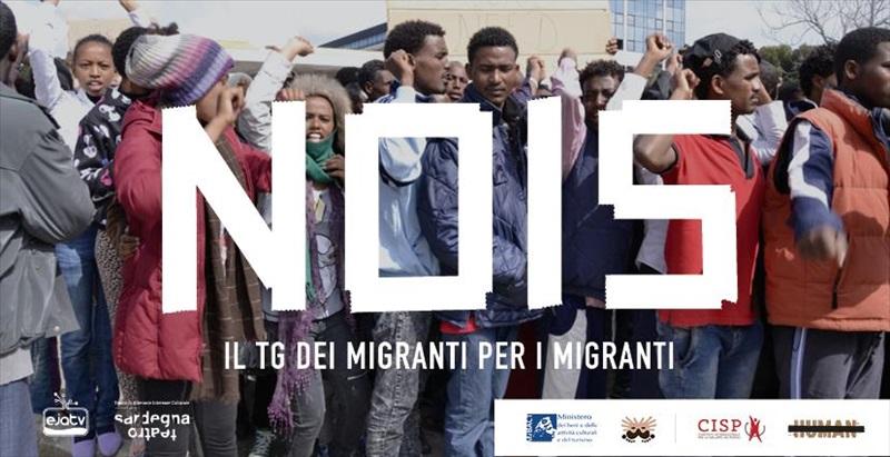 """Stay Human, Stay """"Nois"""". Il primo telegiornale dei migranti per i migranti."""