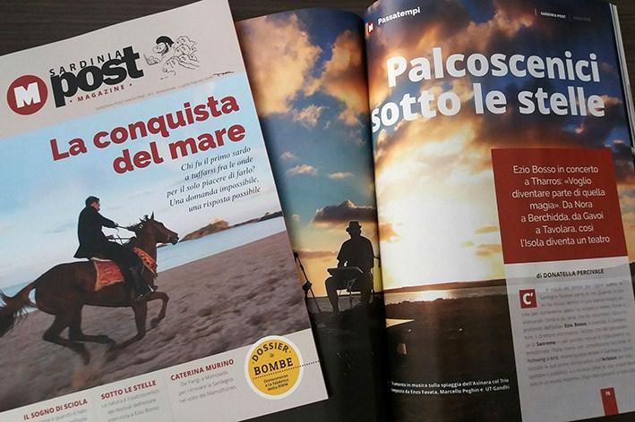 Nelle edicole e online Sardinia Post Magazine