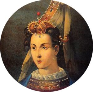 Indossate una corona sulle vostre dolcezze, una novella di Matteo Tuveri (Picture: La moglie di Solimano, Roxelana, 1500-1558)