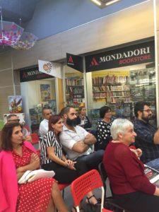 Pioggia inversa. Storia del Diavolo e un precario - Presentazione del libro, 28 settembre 2018, Bookstore Mondadori I Mulini, Cagliari