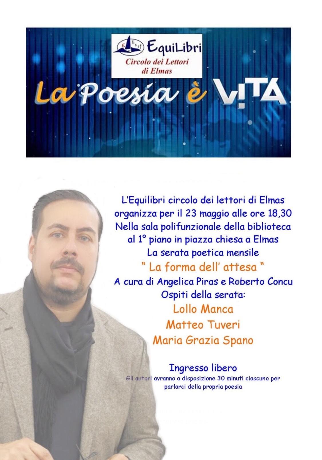 Tuveri e Sissi al Circolo del lettori di Elmas (Cagliari)